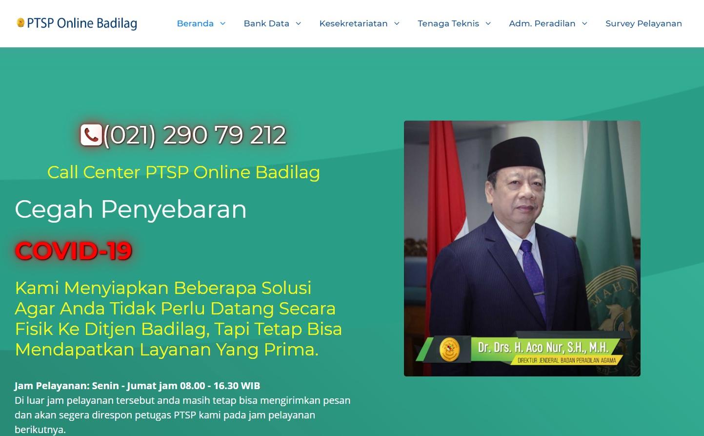 PTSP Online Badilag